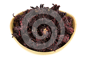 Dried Roselle Flowers (Hibiscus Sabdarrifa) Royalty Free Stock Image - Image: 25061246
