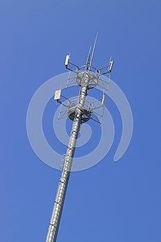 Telecommunications Tower Royalty Free Stock Image - Image: 25072566