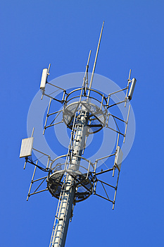 Telecommunications Tower Stock Images - Image: 25072574