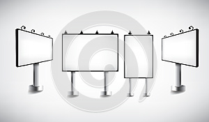 Empty Billboard Royalty Free Stock Images - Image: 25076309