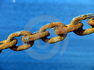 Rusty Metal Chain Royalty Free Stock Image - Image: 2510896
