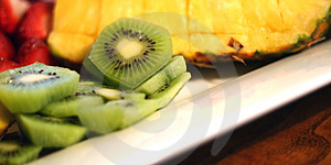 Fruit Dish 2 Royalty Free Stock Images