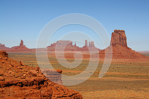 Monument Valley Royalty Free Stock Images - Image: 25104649