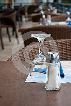 Outdoors Cafe Royalty Free Stock Photo - Image: 25109865