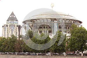 International House Of Music In Moscow Royalty Free Stock Images - Image: 25112099