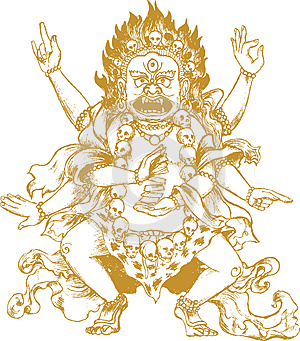 Indian Demon Royalty Free Stock Photography - Image: 25114177