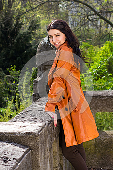 Girl In The Park Stock Images - Image: 25126484