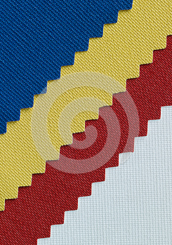 Ticolor Fabric Detail Texture Royalty Free Stock Photography - Image: 25132047
