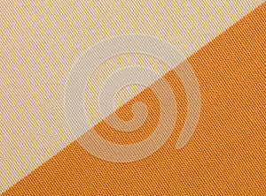 Beige And Orange Fabric Texture Royalty Free Stock Photos - Image: 25132428