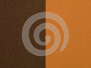 Brown And Orange Fabric Texture Macro Stock Image - Image: 25132441