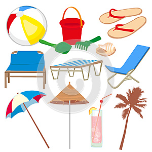 Vacation And Travel Icons Royalty Free Stock Photos - Image: 25132888