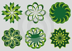 Green Circles Royalty Free Stock Photos - Image: 25135318