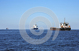Sea Navigation Royalty Free Stock Photos - Image: 25136338