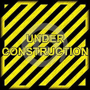 Under Construction Grunge Background Stock Images - Image: 25141834