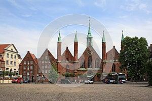 Hospital Of The Holy Spirit Royalty Free Stock Photo - Image: 25143165