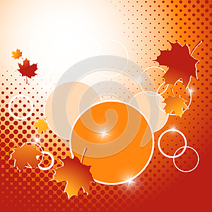Autumn Vector Backdrop. Eps10 Stock Photography - Image: 25152252