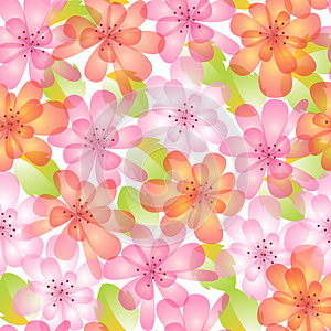 Summer Pattern Royalty Free Stock Images - Image: 25163309