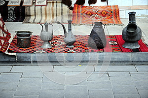 Souvenirs And Carpets Stock Images - Image: 25169894