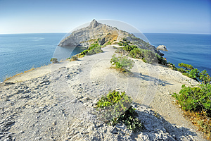Paths Along The Cape. Stock Images - Image: 25173654