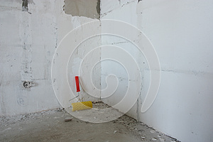 Repair In A House Royalty Free Stock Image - Image: 25188226