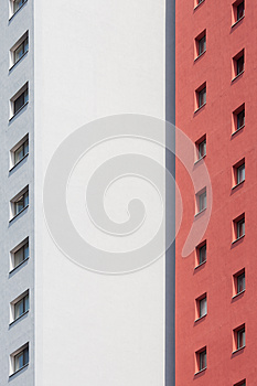 Facade Of A Tower Building Stock Photo - Image: 25194620