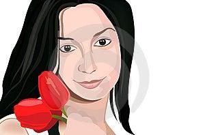 Flower Girl Royalty Free Stock Photo - Image: 2524305
