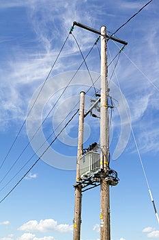 Electricity Pylon Stock Image - Image: 25201911