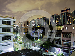 Night View Of Bangkok, Thailand. Royalty Free Stock Photo - Image: 25207305