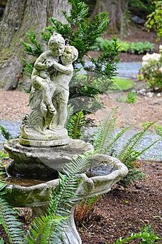 Old Garden Birdbath Royalty Free Stock Photos - Image: 25219428