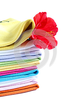Towels With A Fresh Aroma Stock Photography - Image: 25222022
