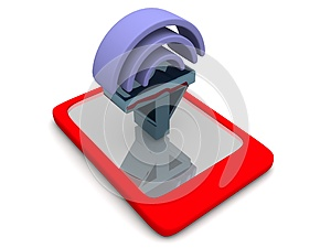 Mobile Signal Stock Photo - Image: 25225110
