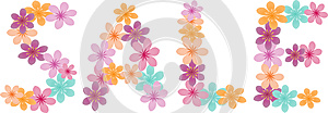 Floral Word Stock Images - Image: 25226094