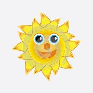 Happy Sun Royalty Free Stock Photo - Image: 25226715