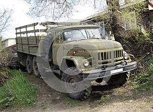 Lorry ZIL-131 Royalty Free Stock Photo - Image: 25235205