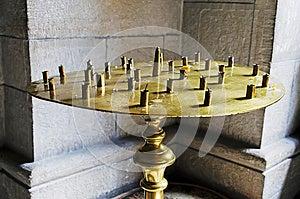 Empty Candlestick Royalty Free Stock Image - Image: 25235256