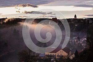Historical Town Panorama Stock Image - Image: 25240571