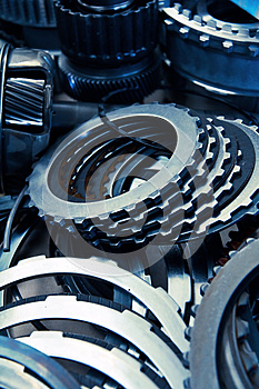 Automobile Gear Assembly Stock Photography - Image: 25241912