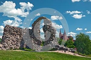 Ruins Stock Image - Image: 25242551