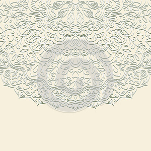 Vector Ornamental Background. Stock Photography - Image: 25244392
