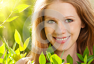 Beauty Girl In Nature Stock Photography - Image: 25246982
