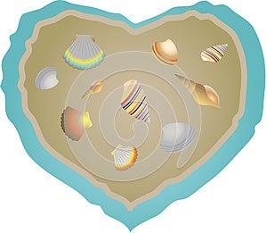 Shells Set. Stock Images - Image: 25256934