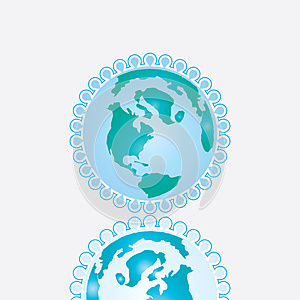 Earth Icon Royalty Free Stock Images - Image: 25259479