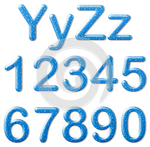 Water Text Style Royalty Free Stock Photography - Image: 25262597