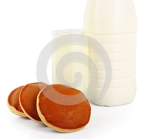 Milk And Cookies Stock Image - Image: 25267191