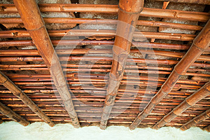 Bamboo Roof Stock Photos - Image: 25283623