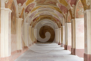 Decorative Ornate Corridor Royalty Free Stock Photo - Image: 25286395