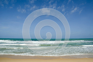 Karon beach in phuket Stock Photo