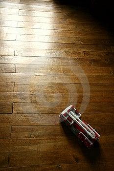 Vintage Firetruck Model Toy Stock Photo - Image: 2530180