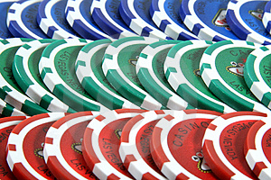 Poker Chips Stock Photo - Image: 2531990