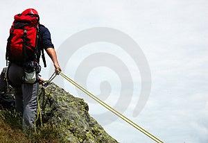 Ορειβάτης Στοκ Φωτογραφίες - εικόνα: 2537143
